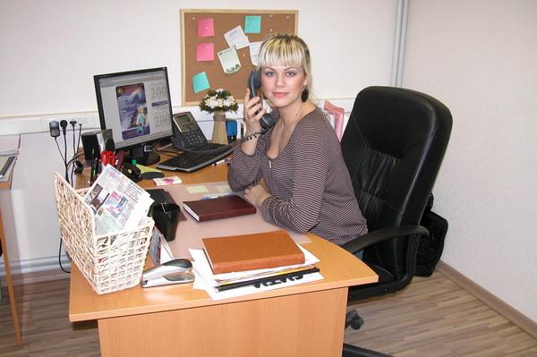 Сабина новая секретарша